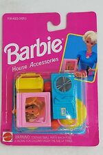 1993 Barbie House Accessories NIP Pink TV Teal Record Player