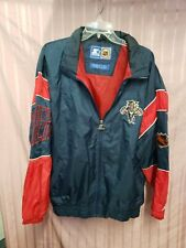 Vintage Starter Jacket NHL Florida Panthers Zip Jacket Hoodie Mens Size L