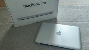 """Macbook Pro 13"""" 8GB 500GB w/ Office 16, Logic Pro X Final Cut Pro, upgraded, box"""