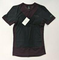 Nike Gyakusou Undercover Running Shirt Burgundy Black BQ3250 643 Mens SZ XS