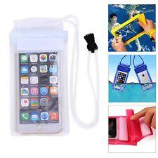 Funda Impermeable para Teléfono Móvil Resistente Agua Acuática Blanca d265