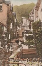 """""""Hundred Year old photo postcard from collection"""" Clovelly Devon"""