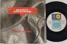 "GARY MOORE Empty Rooms  7"" Poster Sleeve, Orig 1984 Ltd Edition, B/W Nuclear Att"
