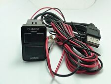 USB AUDIO-CHARGER TOYOTA HILUX 2009-2014 VIGO FORTUNER EASY INSTALL