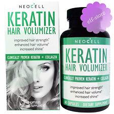 Neocell, Keratin Hair Volumizer, 60 Capsules Increased Shine Volume Strenght