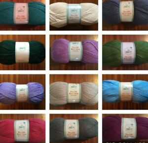 100g Ball of So Crafty DK Acrylic Yarn Wool - Various Colours to Choose from