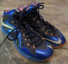 Nike Lebron X 10 PS Elite Superhero Blue Orange Size 11.5 #579827-400
