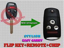Blade NEW Flip Switch Remote Key FOB Keyless For 2008-2012 Honda Accord KA8