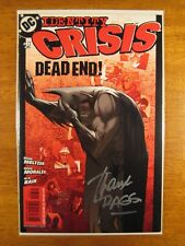 Wow! IDENTITY CRISIS #6 **SIGNED BY RAGS MORALES!** COA!