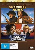 Shanghai Noon / Shanghai Knights * NEW DVD * Owen Wilson Jackie Chan