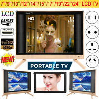 19/22/24inch LED Smart Digital LCD TV 16:9 HDMI USB VGA AV 1080P HD Television