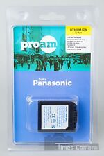 ProAm PA-S006E Battery Replace DMW-BMA7 CGR-S006 E CGA-S006E / 1B for Panasonic