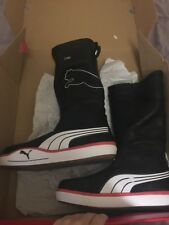 Puma Luff 1.2 GTX Boots Black Leather Size 7 US 39 UK
