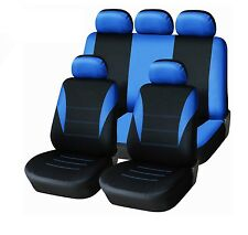 Seat sitzbezüge Seat Covers Noor for VW Golf 3 4 5 6 BMW Blue Complete Set