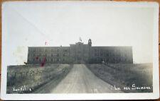 1930s Lac Aux Saumons, Quebec/PQ Realphoto Postcard: Hopital/Hospital - Canada