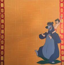 Sandylion: Scrapbook Paper (2) Sheets 12 x 12 Disney Jungle Book