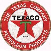 Texaco MOTOR OIL Company Vintage Style Metal Signs 12'' Garage Man Cave Decor 69