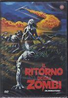 dvd IL RITORNO DEGLI ZOMBI - BLOODEATERS nuovo 1980