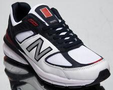 New Balance 990 Hecho En Ee.uu. Hombre Carbono Rojo Blanco Bajo Lifestyle