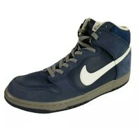 Nike Dunk High Navy Blue Mens Sneakers, Size 13 Shoes, Model # 317982-401