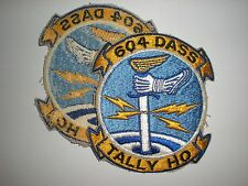 "USAF 604TH DIRECT AIR SUPPORT SQUADRON DASS 4.5"" PATCH - COLOR"
