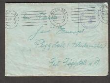 1940 WWII cover & letter Briefstempel Bataillon 4 Wien Austria to Poggstall