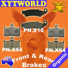 FRONT REAR Brake Pads for HONDA RVF 400 RR/RR-II/RT/RT-II (NC35) 1994 1995 1996