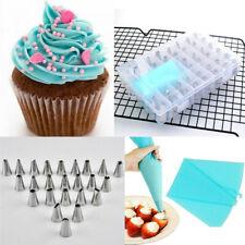 36PCS DIY Cream Pastry Bag Cake Decor Icing Piping Nozzles Tube Mold Set Baking