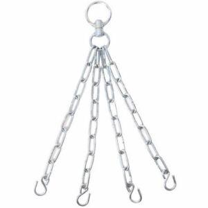 Maxx 4 Strand Hanging Steel Chain & Swivel Boxing Punch Bag Chain Heavy Duty MMA