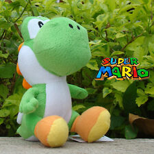 "Super Mario Bros Plush Toy Green Yoshi 7.5"" Lovely Stuffed Animal Doll Cool"