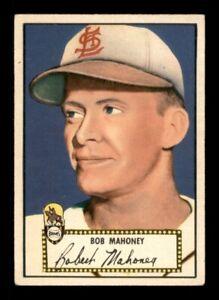1952 Topps Set Break #58 Bob Mahoney Red Back EX *OBGcards*
