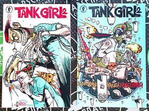 Tank Girl 2 #1-4 Complete Set 1993 Dark Horse Comics Jamie Hewlett Pop Culture