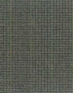 PURE WOOL GREEN /& GREY MICRO HOUNDS TOOTH CHECK LUXURIOUS FINE TAILORING  E77