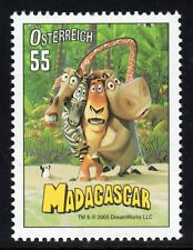 Austria 2005 Cartoon Film Madagascar Fine U/M MNH SG2769