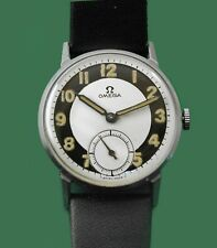 Omega Vintage 1945 Stainless  men's Military Type Watch Caliber 30 T2