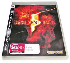 Resident Evil 5 PS3 Sony