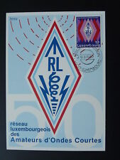 telecommunications radio High Frequency maximum card Luxembourg 1987