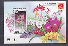 Korea 2001 - Bloemen/Flowers/Blüte (Orchids)