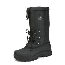 Mens Snow Boots Insulated Water-resistant Thermolite Winter Outdoor Hiking Boots
