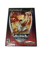 Street Fighter Alpha Anthology PlayStation 2, PS2  Brand New