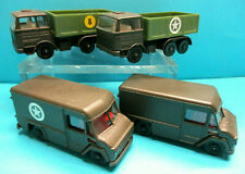 EFSI HOLLAND 302 COMMER MILITARY & MERCEDES TRUCK 4X 70s DIECAST MINT NO BOX LOT