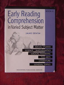 Early Reading Comprehension in Varied Subject Matter Book B by Jane Ervin