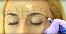 Permanent make-up Lineal Microblading Abstandsmesser 10 Stk klebend Augenbrauen