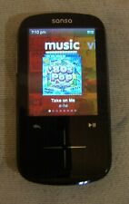 SanDisk Sansa Fuze+ Black (4 GB) Digital Media MP3 Player. Works great