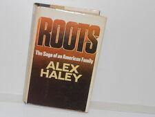 Vintage 1976 Roots by Alex Haley HC, DJ, 1st Edition