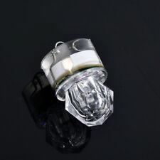 LED Deep Drop Underwater Diamond Flashing Fishing Light Squid Strobe Bait Lure White