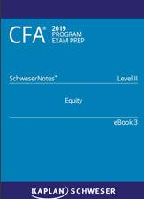 CFA Schweser 2019 Level 2 Notes Book 1-5 Quick sheet, Q & A Bank (Exam Prp)