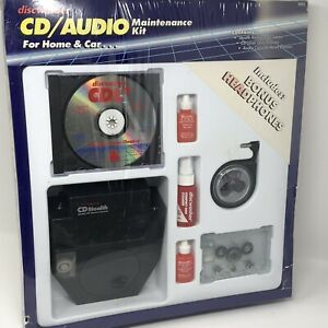 Vintage Discwasher CD / Audio Maintenance Kit Home & Car NEW SEALED CDL2