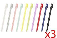 30 stylets tactiles couleur pour Nintendo DS NDS Lite DSL anti-rayures gratuit