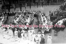 DR 207 - Meal Time, Buxton Military Hospital, Derbyshire - 6x4 Photo